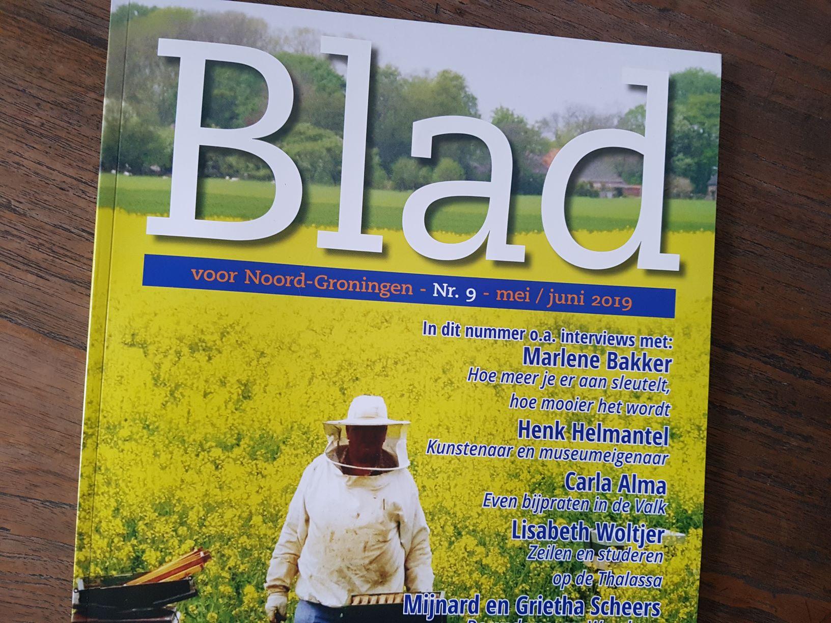 Mooie recensie Dichter bij het Wad in BLAD