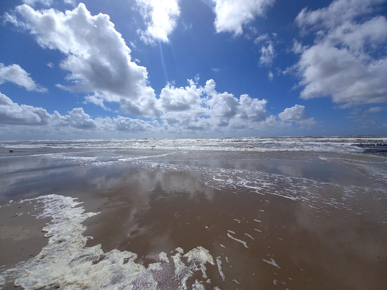 Eiland in zee